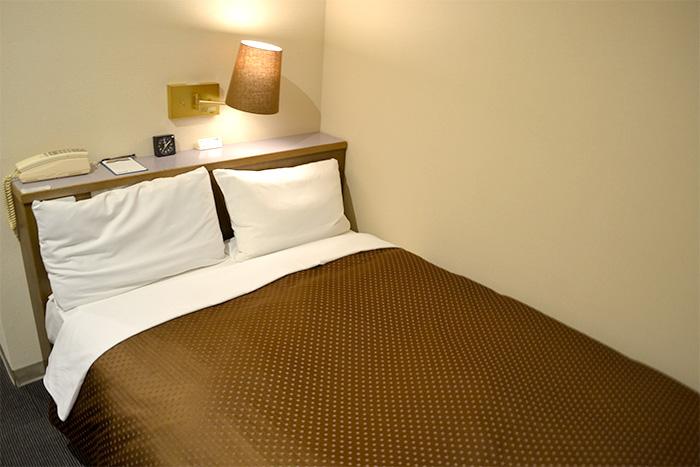 ホテルアバン宿毛 ベッド