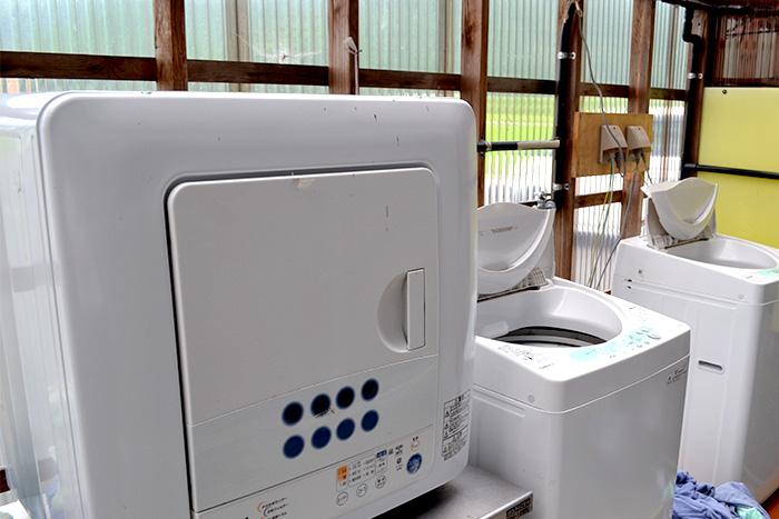 ホテルアバン宿毛 洗濯機