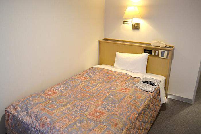 ホテルマツヤ ベッド