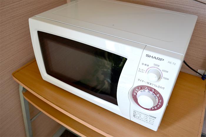 ホテルマツヤ 電子レンジ